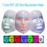 Factory Wholsale 7 Colors Led Facial Mask Pdt Photodynamic Skin Rejuvenation Photon Therapy Anti-Aging Face Mask Anti-Wrinkle Facial Mask Photontherapy Beauty Machine